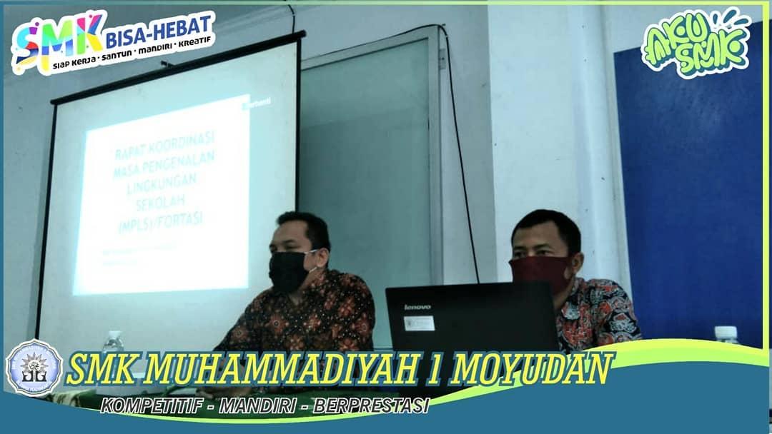 Kordinasi FORTASI SMK Muhammadiyah 1 Moyudan