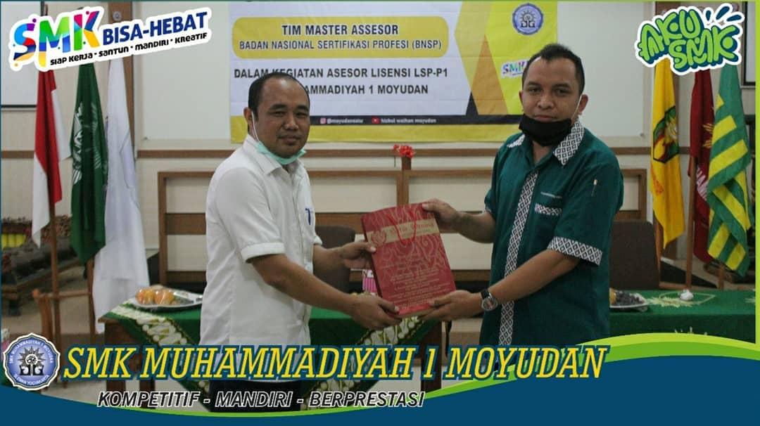 Witness LSP-P1 SMK Muhammadiyah 1 Moyudan