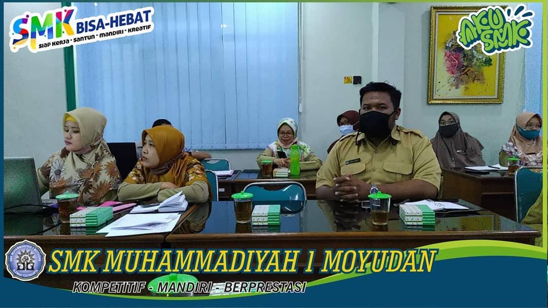 Rapat Rutin SMK Muhammadiyah 1 Moyudan