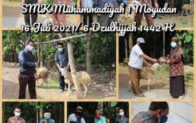 Pendistribusian Hewan Qurban 1442 H